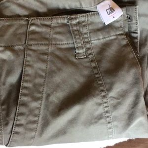 Denim olive pocket jean